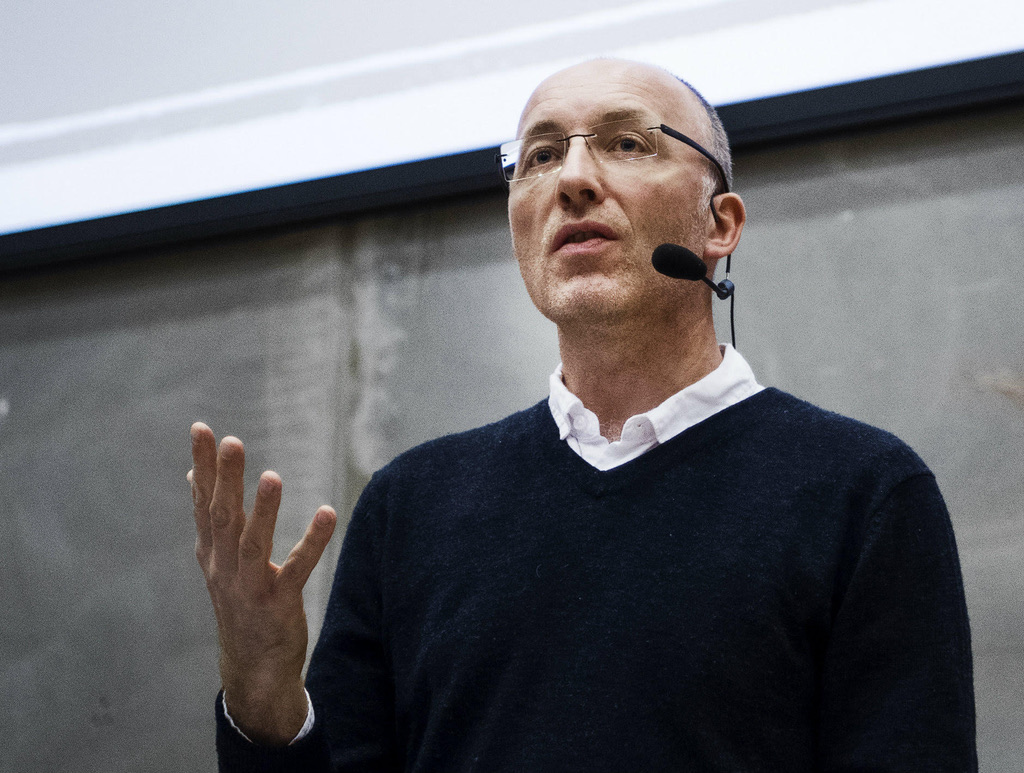 Rencontre avec le Prof. David Nicholls